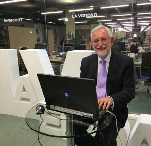 Videochat con Emilio Martínez, candidato a rector de la UMU