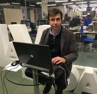 Videochat con Pablo Artal, candidato a rector de la UMU